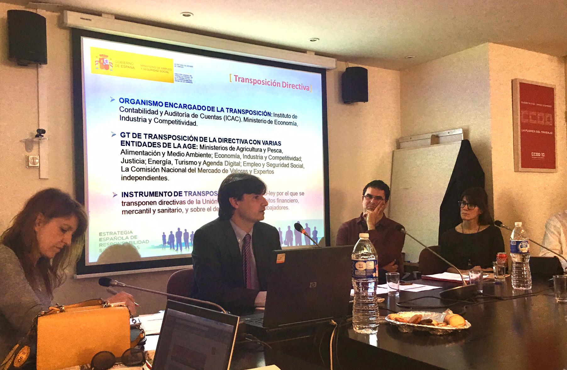 Los expertos analizan la transposición de la Directiva de la UE en la reunión de DimasoLab en Madrid