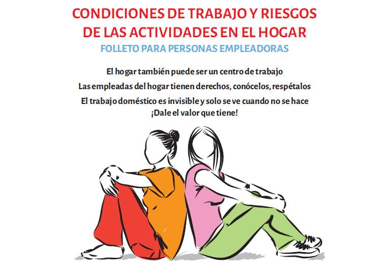 ISTAS publica dos nuevos folletos para trabajadoras y empleadoras del hogar