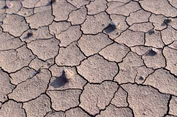 Desertización desierto arena seco