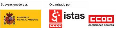 Logotipos clima y trabajadores