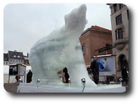 Oso cumbre clima Copenhague redondeada