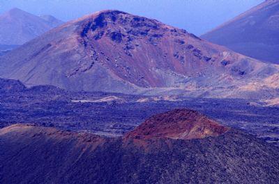 cráter volcán timanfaya