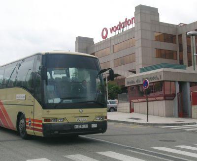Autobús de empresa VODAFONE
