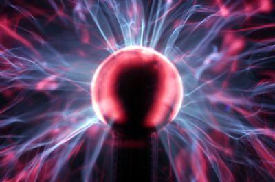 L�mpara de plasma luz radiaci�n