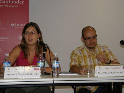 Begoña María Tomé y Llorenç Serrano
