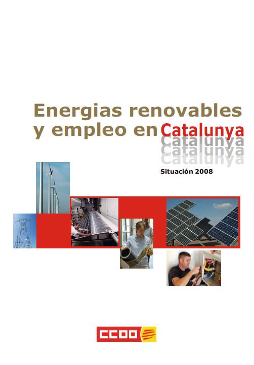 Publicación ISTAS: Energías renovables y empleo Cataluña 2008.