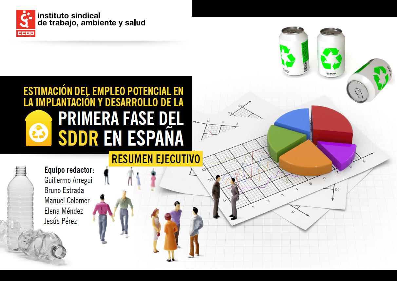 Publicación ISTAS: Estimación del empleo potencial en la implantación y desarrollo de la primera fase del SDDR en España. (Resumen Ejecutivo).