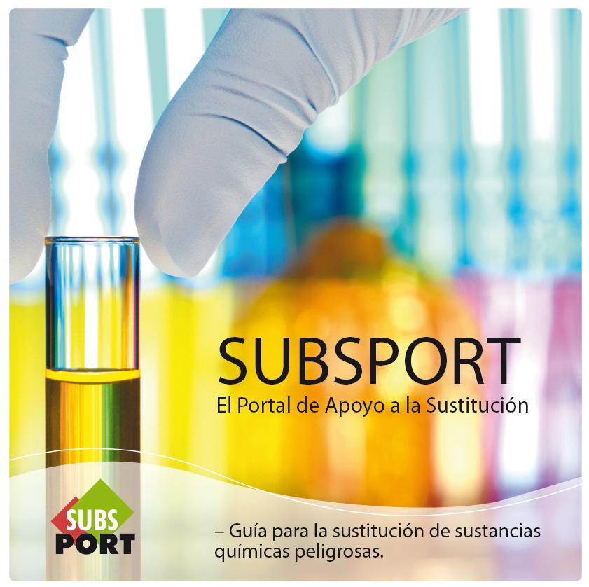 Publicación ISTAS: SUBSPORT. El Portal de Apoyo a la Sustitución.