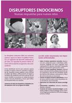 Publicación ISTAS: Hoja informativa. Disruptores endocrinos. Nuevas respuestas para nuevos retos.