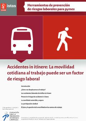 Publicación ISTAS: Accidentes in itínere: La movilidad cotidiana al trabajo puede ser un factor de riesgo laboral..