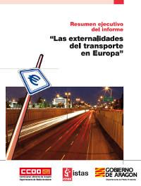 Publicación ISTAS: Las externalidades del transporte en Europa. Diciembre de 2009. Resumen ejecutivo del informe