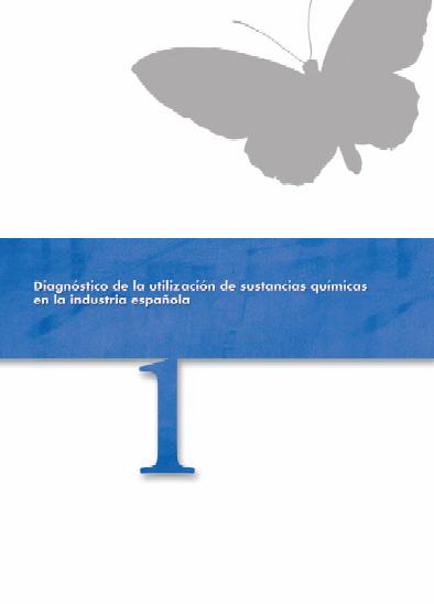 Publicación ISTAS: Diagnóstico de la utilización de sustancias químicas en la industria española.