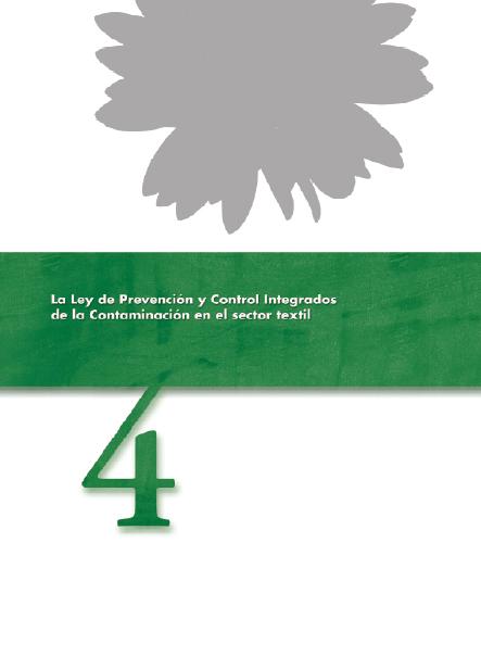 Publicación ISTAS: Estudio de caso 1: La Ley de Prevención y Control Integrados de la Contaminación en el sector textil.