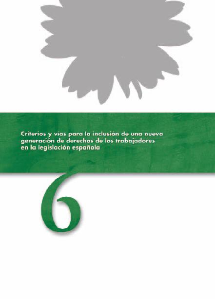 Publicación ISTAS: Criterios y vías para la inclusión de una nueva generación de derechos de los trabajadores en la legislación española.