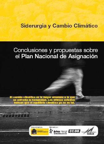 Publicación ISTAS: Siderurgía y cambio climático. Conclusiones y propuestas sobre el Plan Nacional de Asignación