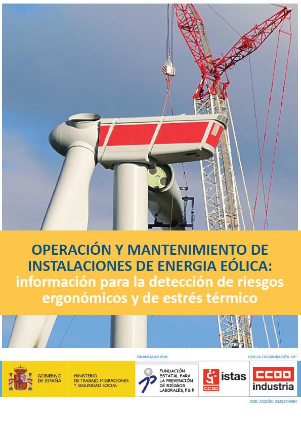 Operación y mantenimiento de instalaciones de energía eólica (guía)